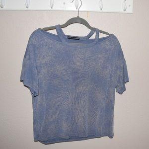 Harlow & Graham Blue t shirt